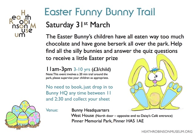 Easter Funny Bunny Trail